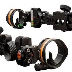 APEX GEAR SIGHT 3D COVERT MICRO EXT LED 1PIN VERSA  BLACK