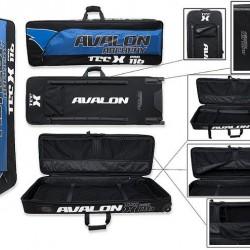 AVALON CASES SOFT COMPOUND TEC-X PRO 116 BLACK/BLUE