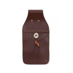 BUCK TRAIL POCKET BROWN LEATHER