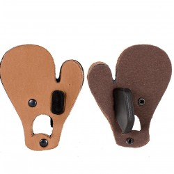 BUCK TRAIL LEATHER TAB WITH SEPARATOR