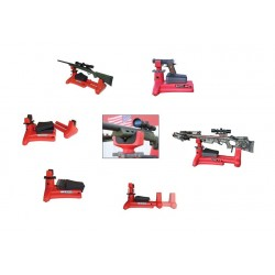 MTM K-ZONE SHOOTING REST RED