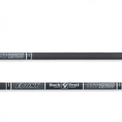BUCK TRAIL SHAFTS CARBON EBONY 5.2
