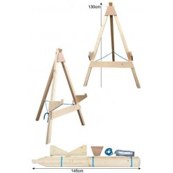 AVALON TARGET STAND SMALL WITH 3 LEGS - MINIMUM 60CM TARGET