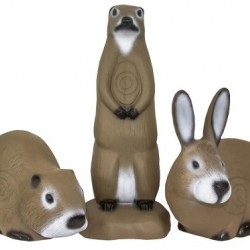 FIELD LOGIC 3-D TARGETS  MUSKRAT - RABBIT - PRAIRI DOG