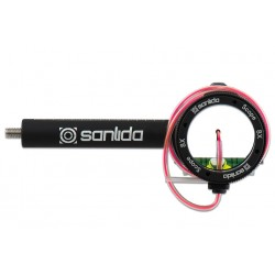 SANLIDA SCOPE X10 WITH LENS RED FIBRE OPTIC AND SUN SHADES