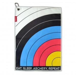 SOCX TOWEL EAT SLEEP ARCHERY REPEAT