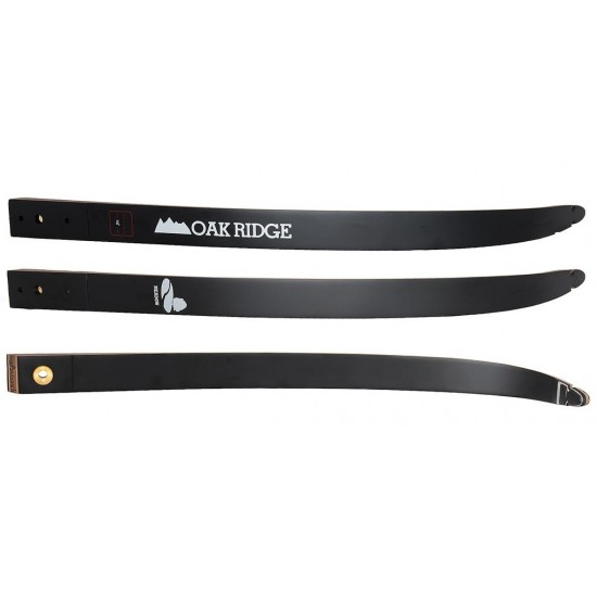 OAK RIDGE LIMBS MEADOW MAPLE WOOD AND BLACK GLASS