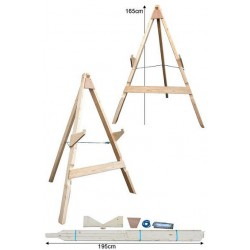 AVALON STANDS LARGE HD WITH 3 LEGS - MINIMUM 70CM TARGET